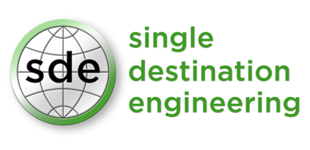 single destination engineering logo